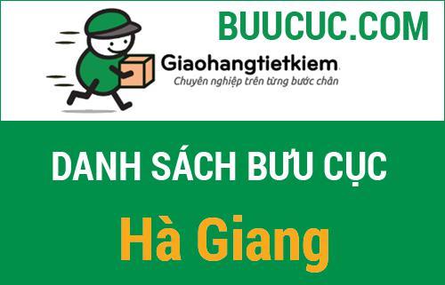 Điểm gửi hàng giao hàng tiết kiệm Hà Giang
