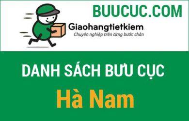 Thông tin bưu cục GHTK Hà Nam