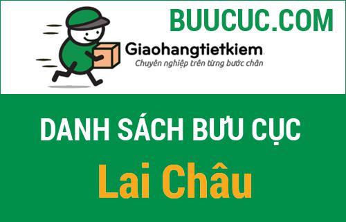 Địa chỉ bưu cục ghtk Lai Châu