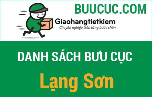 Điểm gửi hàng GHTK Lạng Sơn