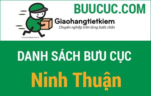 Danh sách các bưu cục giao hàng tiết kiệm Ninh Thuận