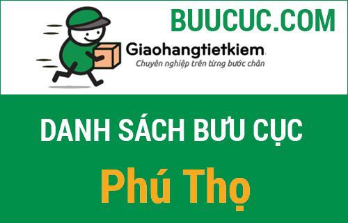 Điểm gửi hàng GHTK Phú Thọ