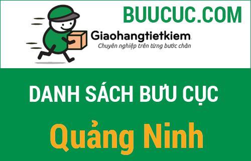 Danh sách bưu cục giao hàng tiết kiệm Quảng Ninh