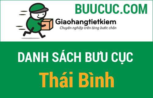 Các điểm gửi hàng GHTK ở Thái Bình