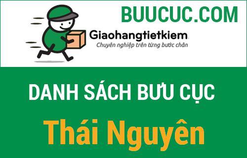 Danh sách bưu cục Giao Hàng Tiết Kiệm Thái Nguyên