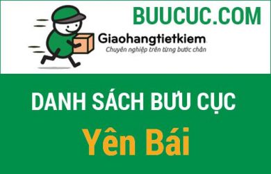 Điểm gửi hàng giao hàng tiết kiệm ở Yên Bái