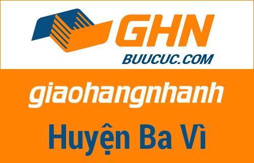Bưu cục GHN Huyện Ba Vì – Hà Nội