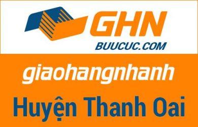 Bưu cục GHN Huyện Thanh Oai – Hà Nội