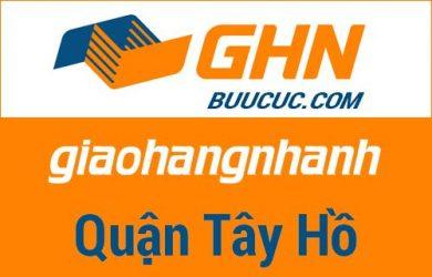 Bưu cục GHN Quận Tây Hồ – Hà Nội