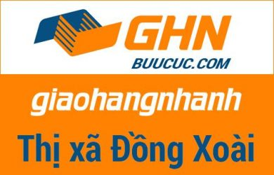 Bưu cục GHN Thị xã Đồng Xoài – Bình Phước