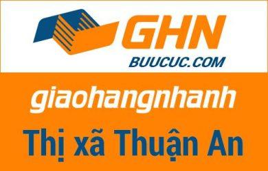 Bưu cục GHN Thị xã Thuận An – Bình Dương