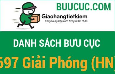 Giao hàng tiết kiệm 697 Giải Phóng (HN)