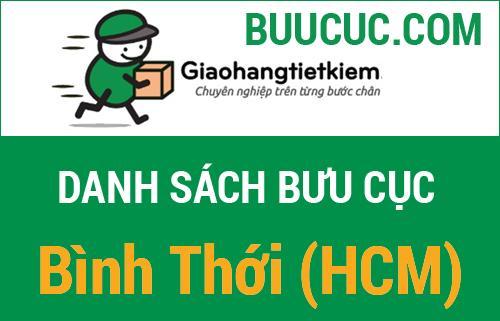 Giao hàng tiết kiệm Bình Thới (HCM)