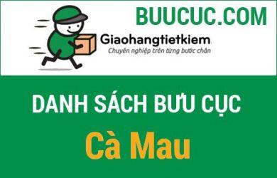 Giao hàng tiết kiệm Cà Mau