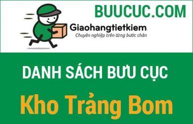 Giao hàng tiết kiệm Kho Trảng Bom