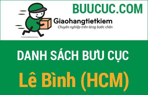 Giao hàng tiết kiệm Lê Bình (HCM)