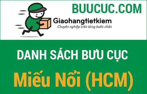 Giao hàng tiết kiệm Miếu Nổi (HCM)