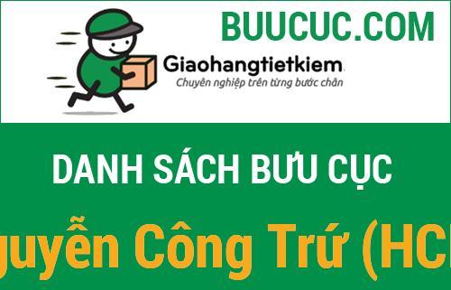 Giao hàng tiết kiệm Nguyễn Công Trứ (HCM)