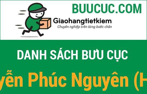 Giao hàng tiết kiệm Nguyễn Phúc Nguyên (HCM)