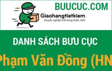Giao hàng tiết kiệm Phạm Văn Đồng (HN)
