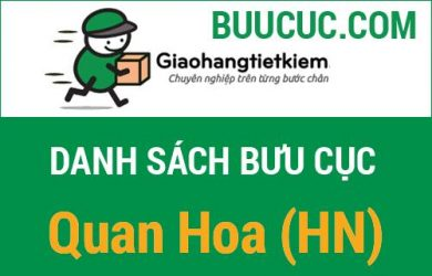 Giao hàng tiết kiệm Quan Hoa (HN)