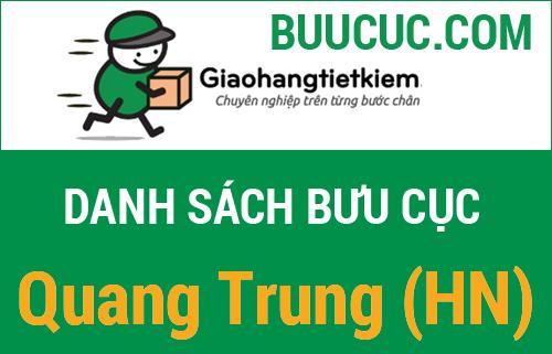 Giao hàng tiết kiệm Quang Trung (HN)