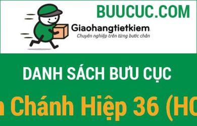 Giao hàng tiết kiệm Tân Chánh Hiệp 36 (HCM)