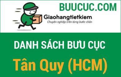 Giao hàng tiết kiệm Tân Quy (HCM)