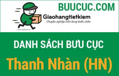 Giao hàng tiết kiệm Thanh Nhàn (HN)