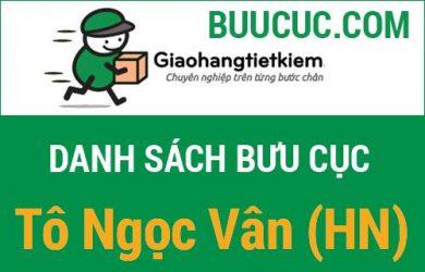 Giao hàng tiết kiệm Tô Ngọc Vân (HN)