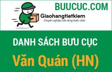 Giao hàng tiết kiệm Văn Quán (HN)