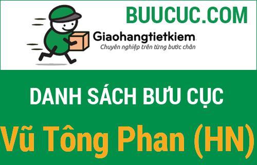 Giao hàng tiết kiệm Vũ Tông Phan (HN)