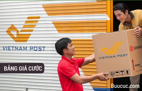 Giá cước bưu điện VNPost