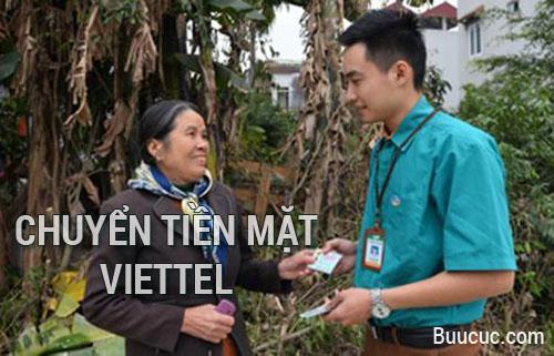 Chuyển tiền mặt Viettel tận tay ngay nơi bạn ở
