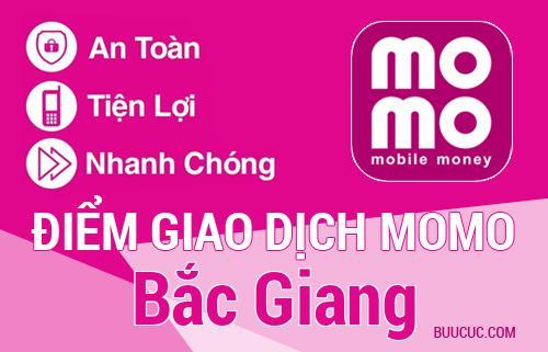 Điểm giao dịch MoMo Bắc Giang