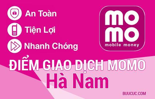 Điểm giao dịch MoMo Hà Nam