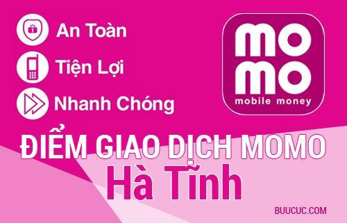 Điểm giao dịch MoMo Hà Tĩnh