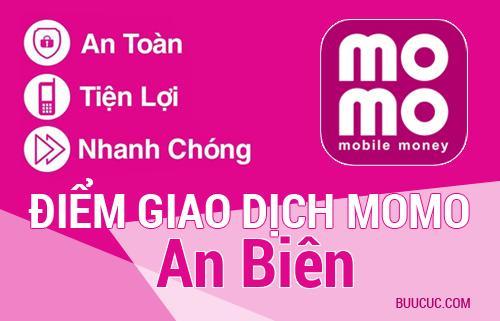 Điểm giao dịch MoMo Huyện An Biên, Kiên Giang