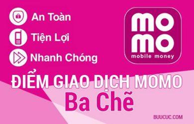 Điểm giao dịch MoMo Huyện Ba Chẽ, Quảng Ninh