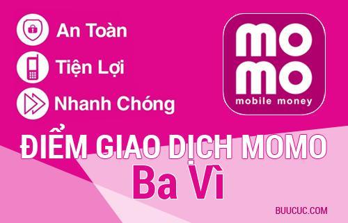 Điểm giao dịch MoMo Huyện Ba Vì, Hà Nội