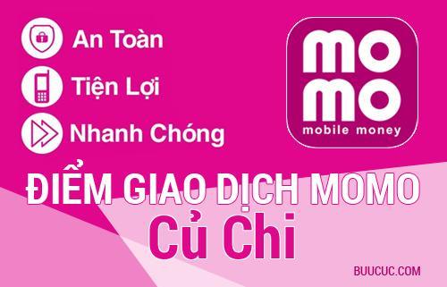 Điểm giao dịch MoMo Huyện Củ Chi , Hồ Chí Minh
