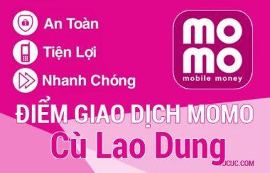 Điểm giao dịch MoMo Huyện Cù Lao Dung, Sóc Trăng