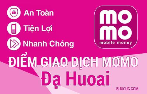 Điểm giao dịch MoMo Huyện Đạ Huoai, Lâm Ðồng
