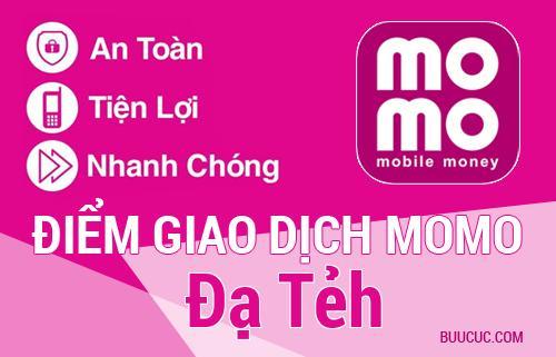 Điểm giao dịch MoMo Huyện Đạ Tẻh, Lâm Ðồng