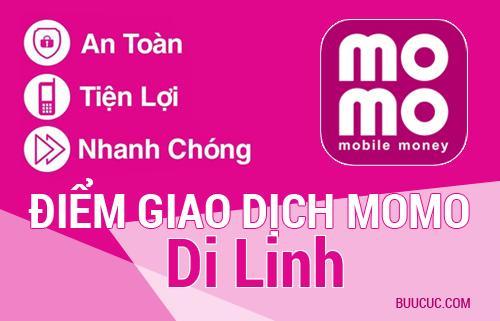 Điểm giao dịch MoMo Huyện Di Linh, Lâm Ðồng