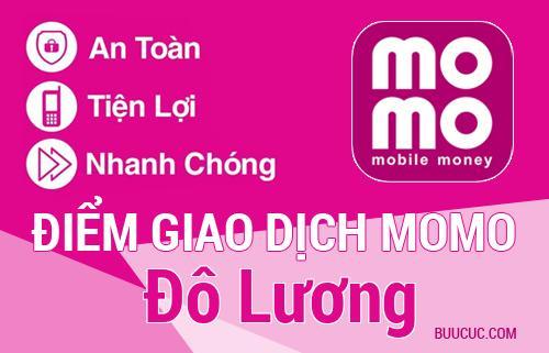 Điểm giao dịch MoMo Huyện Đô Lương, Nghệ An