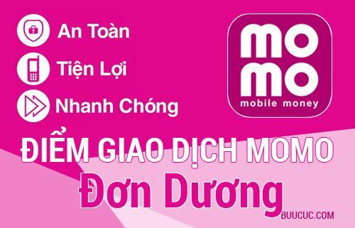 Điểm giao dịch MoMo Huyện Đơn Dương, Lâm Ðồng