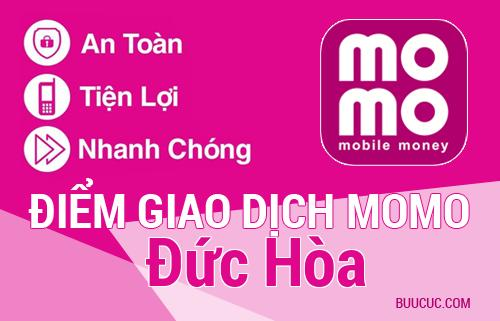 Điểm giao dịch MoMo Huyện Đức Hòa, Long An