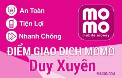 Điểm giao dịch MoMo Huyện Duy Xuyên, Quảng Nam
