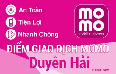 Điểm giao dịch MoMo Huyện Duyên Hải, Trà Vinh